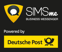 SIMSme Business, Deutsche Post